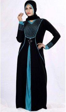 Burqa Hijab Islamic and Abaya Collection in Lycra Black | FH525379513 #trendy, #highquality, #islamic, #clothing, #women, #hijab, #fashion, #dresses, #jilbabs, #hijabs, #shawls, #islamic, #muslim, #burqa, #niqab, #wedding, #store, #boutique, #dubai, #pakistani, #mordern, #heenastyle, #readymade, #black, #color, @heenastyle