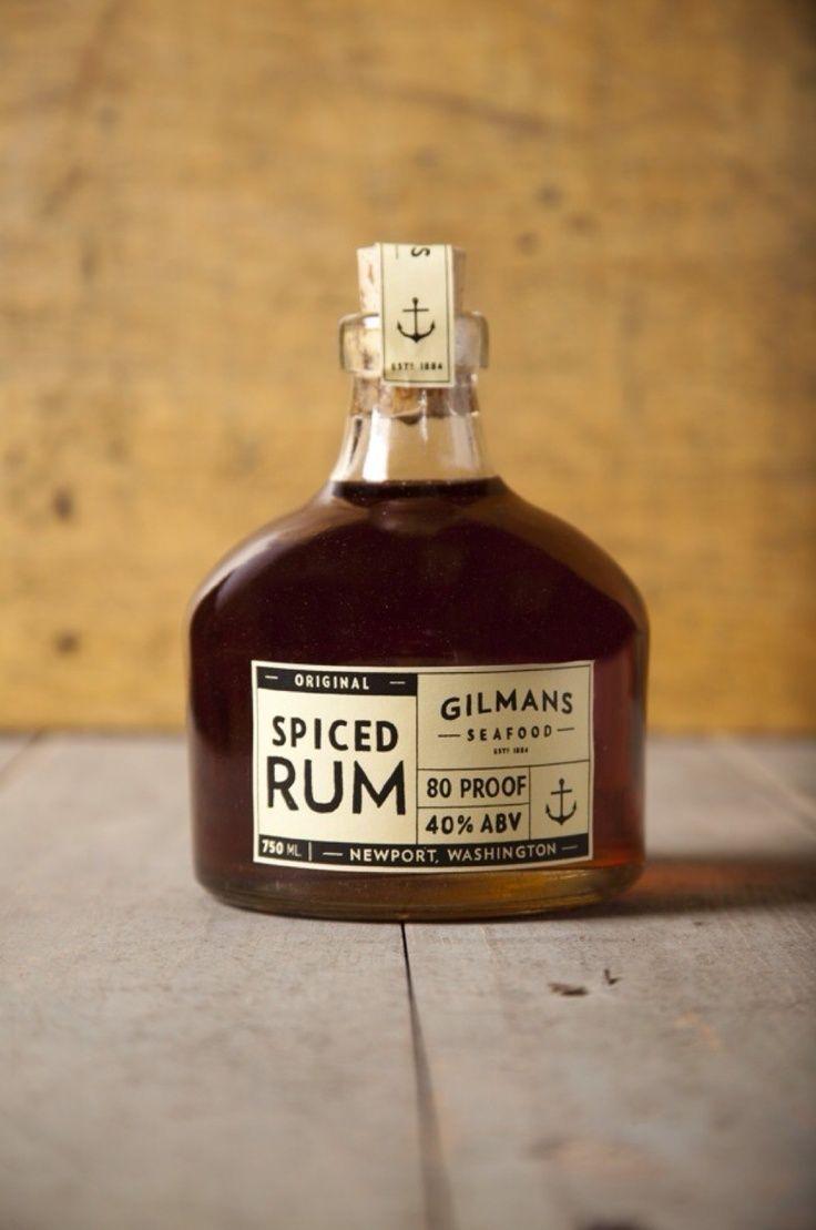 Rum packaging - Gilman's