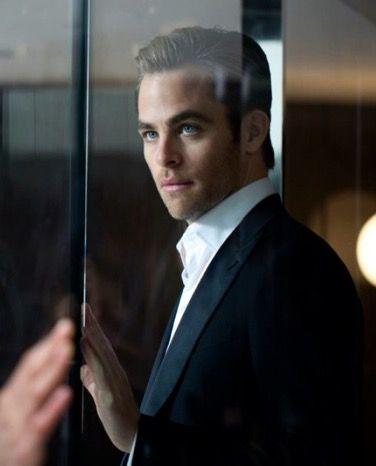 Chris Pine for Armani