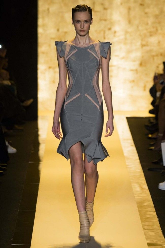 Herve Leger ready-to-wear autumn/winter '15/'16 - Vogue Australia