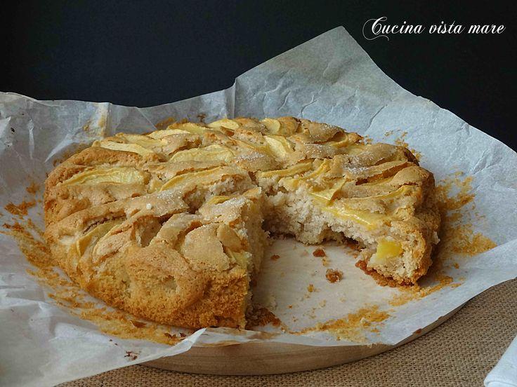 Torta+di+mele+senza+latte+e+senza+uova