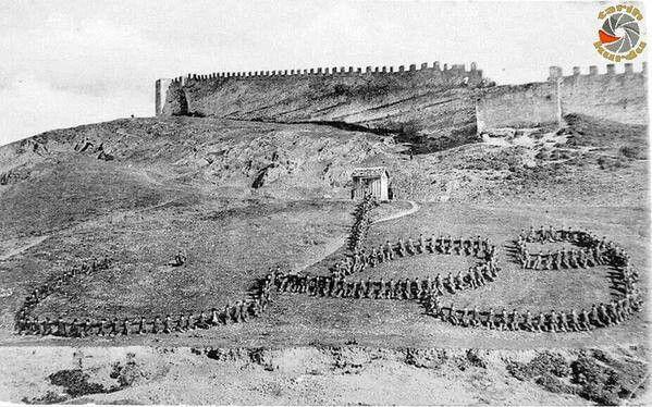 Kurtuluş Savaşında askerlerin yazdığı VATAN (arapça)........