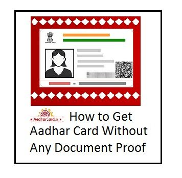 how to get aadhar card