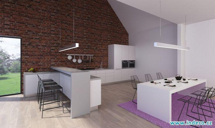 V interiéru moderní kuchyně je potřeba dbát i na detaily www.indeco.cz