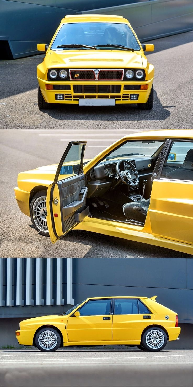 1994 #Lancia Delta Delta HF Integrale Limited edition Giallo Ginestra 1/220  #italiandesign