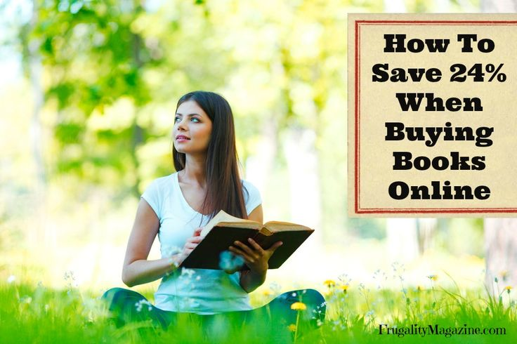Buy Books Cheap: How To Save 24% When Buying Books Online. #frugality #savingmoney