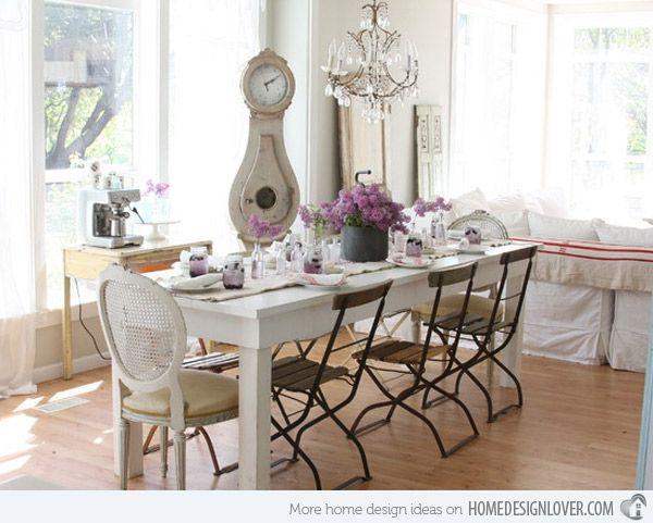 Best 25 Shabby Chic Dining Room Ideas On Pinterest