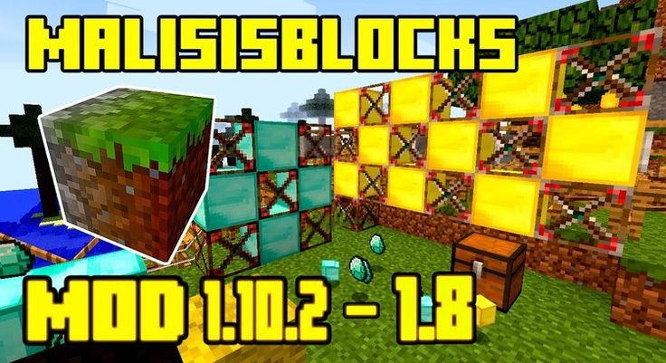 Malisis Blocks Mod 1.11.2/1.10.2 for Minecraft is a mod that let players combine 2 different blocks into one with a color gradient texture, allowing the creation of building with unique textures both inside and outside. With this block, you will need only one block layer to build the wall and...