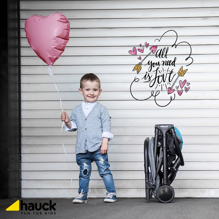 All you need is love...!!! #love #baby #Hauck #HauckFunForKidsGreece