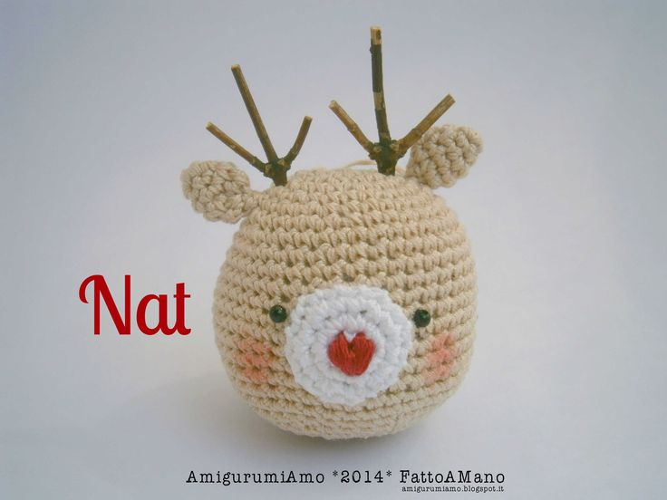 Amigurumi Reindeer Free Pattern : Best amigurumiamo pin images amigurumi