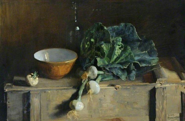 Still Life, Vegetables Isabel Codrington (1874–1943) Ferens Art Gallery