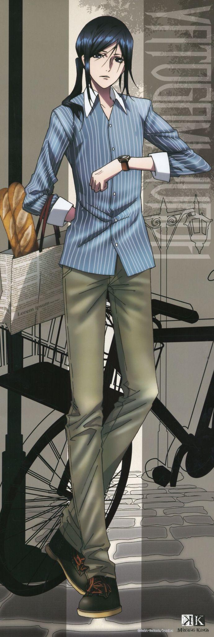 "Yatogami Kuroh. K ""Project"". K ""Missing Kings"". #anime."