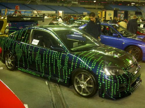 painted cars | Matrix Painted Cars | Weirdomatic