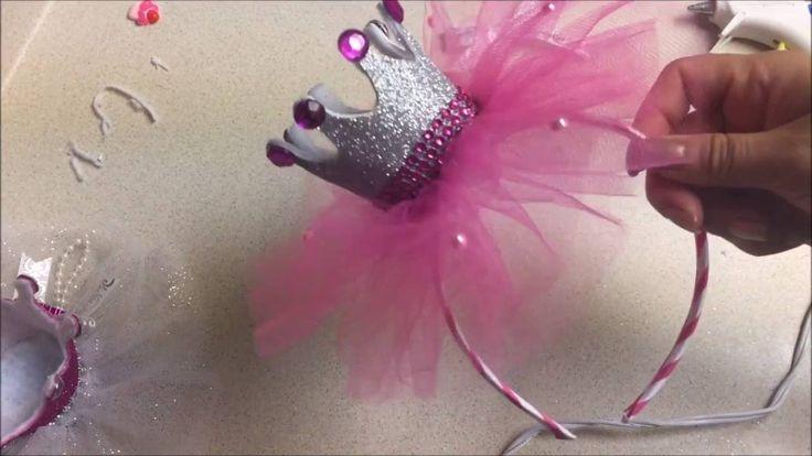 Diy: Diademas para niña en forma de Corona