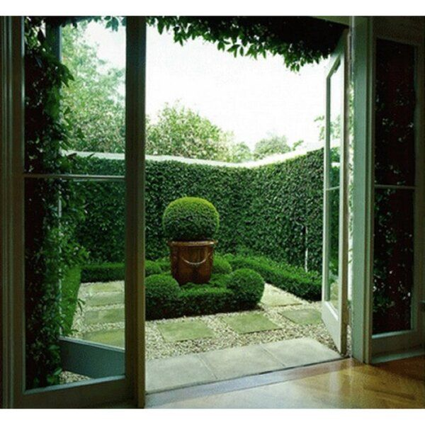 3 5 Ft H X 3 5 Ft W Artificial Planes Milan Hedge Fencing Luxury Garden Vertical Garden Garden Design