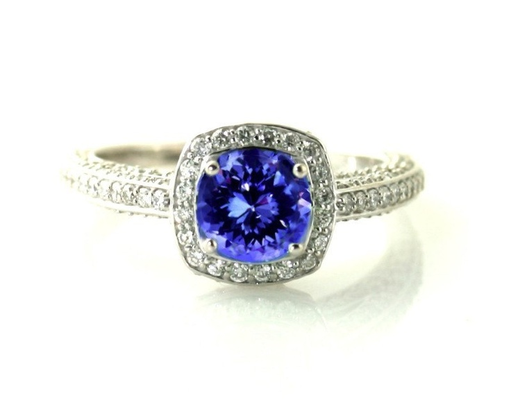 tanzanite engagement rings jared - 736×577