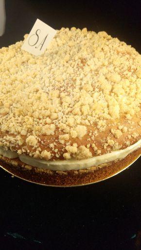 Je vous propose aujourd'hui la recette de la tropézienne, enfin je veux dire de LA tropézienne de Pierre Hermé. La pâte briochée 250g de farine 35g de sucre en poudre 50g de lait entier 10g de levure fraîche 125g d'oeufs 90g de beurre 8g de fleur de sel...