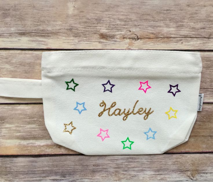 A personal favorite from my Etsy shop https://www.etsy.com/listing/543592863/personalized-pencil-case-personalized