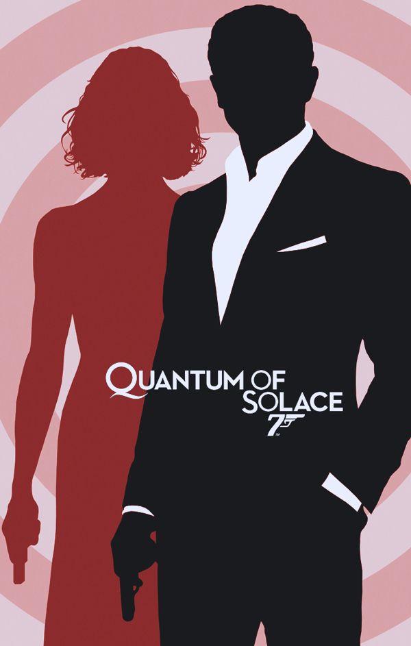 James Bond 007 / Minimalist Design / Series 01 by Rolando Miguel Soberón, via Behance