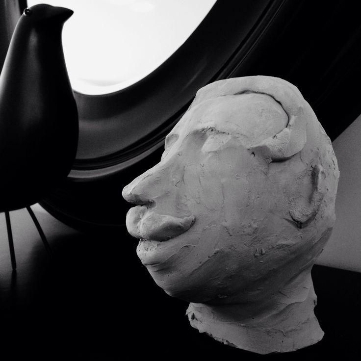 Sculpture Señor bigote BUE2016