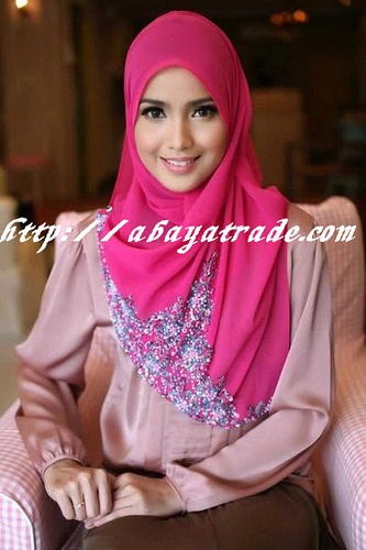 htttp://abayatrade.com muslim fashion magazine muslim fashion elegant pink abaya