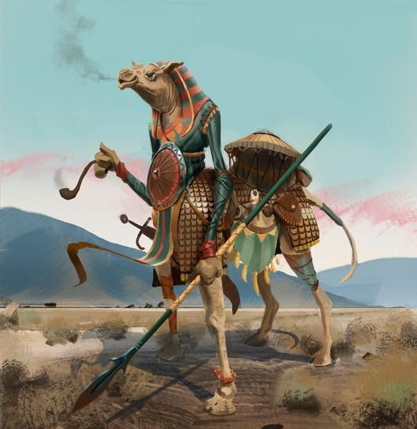 Meet the Camel Warriors, another deadly creatures from Raptor's Challenge!  #RuneScape will become more dangerous!  http://tinyurl.com/RuneScape-C-W