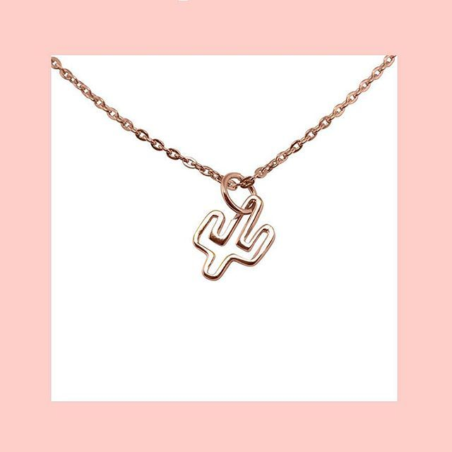 CACTUS NECKLACE #sterlingsilver #gold #rosegold Shop now by following the link in bio or check out the full range at correyandlyon.com.au
