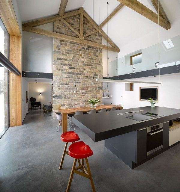 Contemporary Cat Hill Barn Conversion in Yorkshire