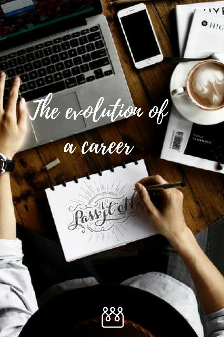The evolution of a career. Throughout our education we're asked to make choices, to choose subjects, specialisms, to work out which skills we want to develop and to decide how we want to spend our 9-5. #WorkingLife