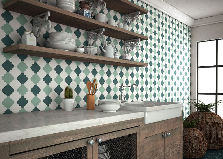Tile of Spain: Natucer Provenzal
