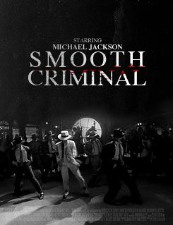Michael Jackson Smooth Criminal thriller mj gif beat it Billie Jean movie poster challenge just testing