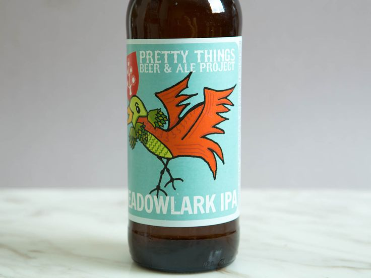 Pretty Things Beer & Ale Project Meadowlark IPA.