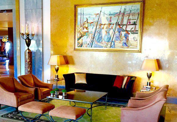 Interior del hotel Ritz de Lisboa