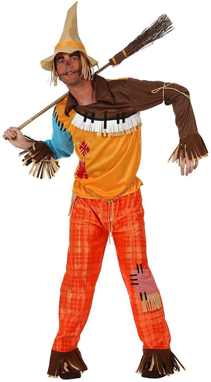 Atosa Disfraz de espantapájaros adultos, talla L Amazon