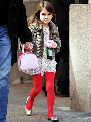 From her Juicy Couture faux fur jacket to her bright red tights, Suri Cruise knows how to work it in the chilly weather. Tell Us: What do you think of her mini street style?: Fashion Kids, Fur Jackets, Kids Style, Kids Fashion, Kids Street, Crui Style, Street Styles, Minis Couture, Kids Rooms