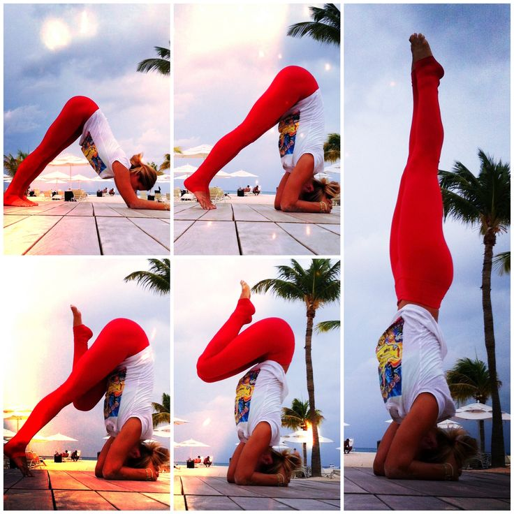 How to Master a Headstand - #Yoga