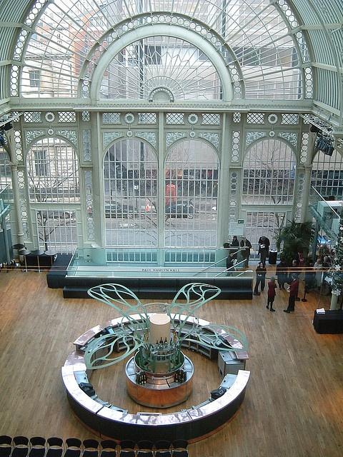 What a venue (Royal Opera House - Champagne bar, London)