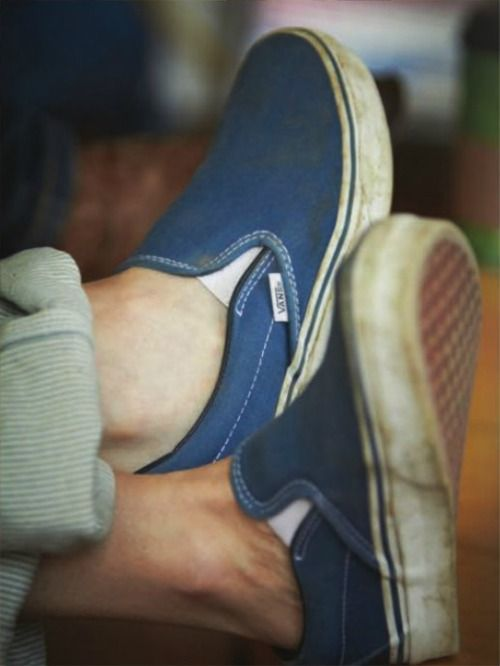 Just how they meant to look, easily the most comfortable shoe. #vans
