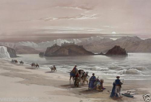 Pharaohs-Island-David-Roberts-circa-1839-Fine-Art-Giclee-Print