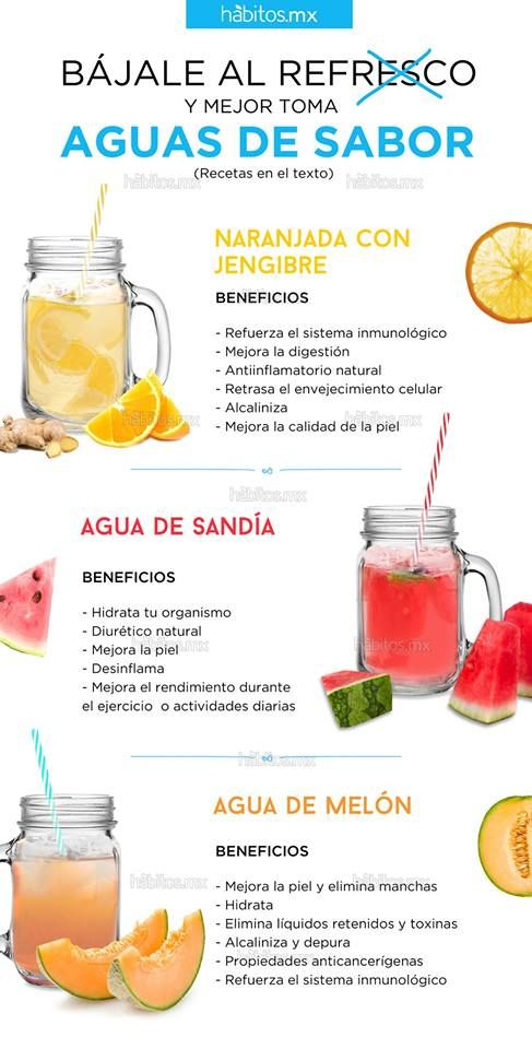 AGUAS DE SABOR: Beneficios
