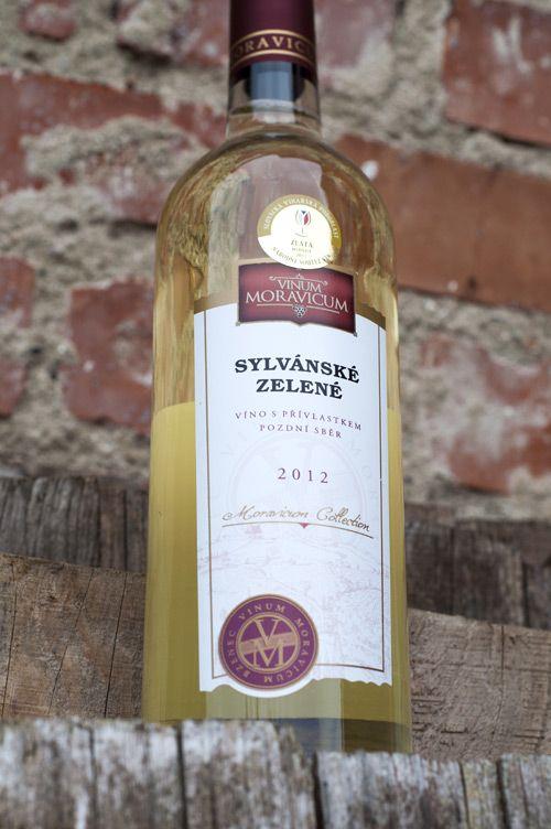 Bílé víno - Sylvánské zelené Pozdní sběr - Vinum Moravicum a.s.