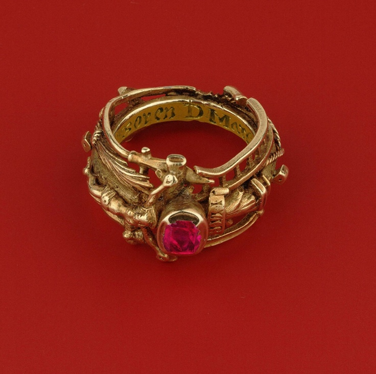 History Of The Wedding Ring: This Is Katharina Luthers Wedding Ring. In The Museum Of