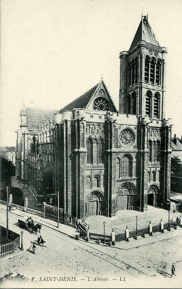 basilique de saint denis debut XXe siecle