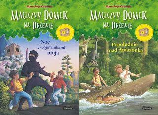 literozerca: Magiczny domek na drzewie - Mary Pope Osborne