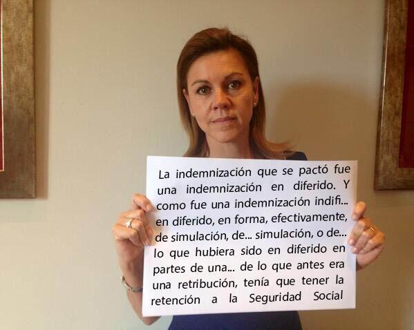 Los mejores memes de Cospedal http://www.eldiario.es/rastreador/Cospedal-propio-meme_6_257984232.html