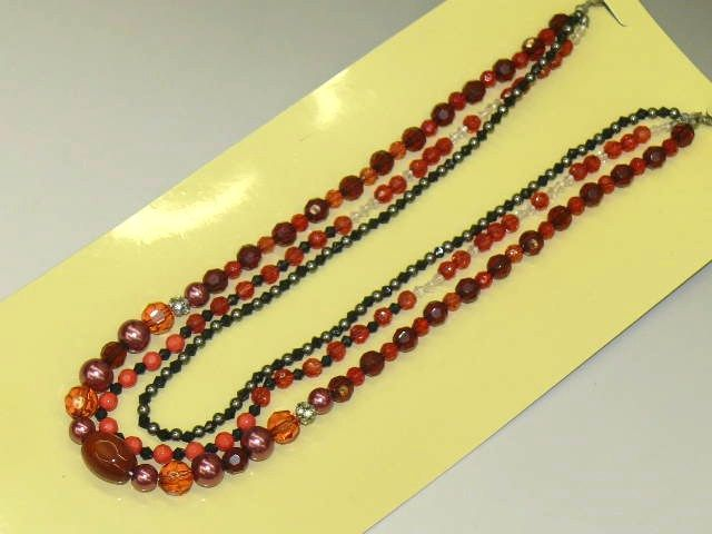 """""""Obi"""" Ornament with Natural Stone, Beads"""