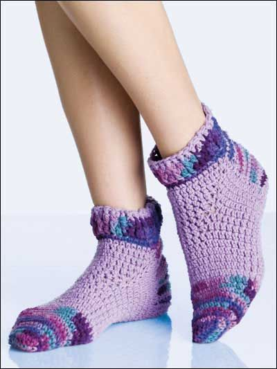Sporty Footies - like the colors, but not sure about the pattern exactly