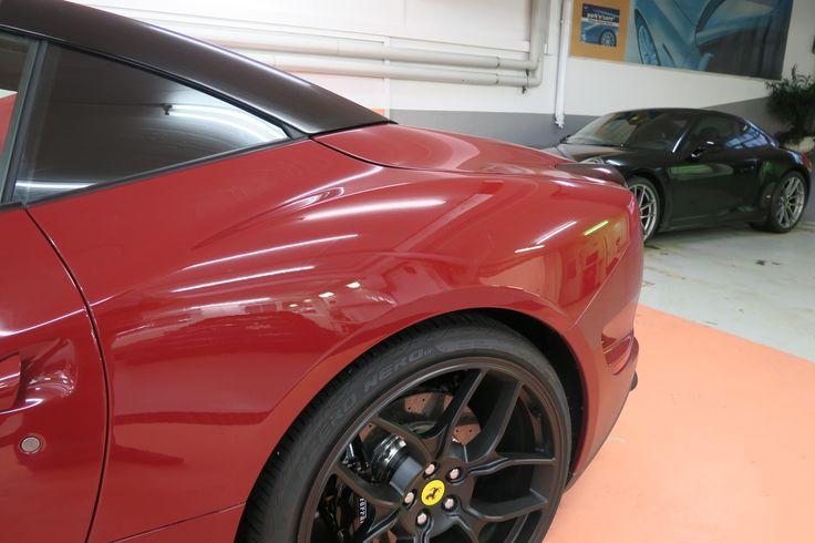 Ferraris, Porsche etc. sind bei AVP seriös aufgehoben und sind in der richtigen Pflege.