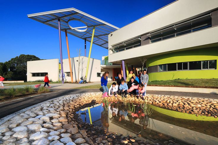 About Two Weeks After Construction Was Complete On The Rakafot School, For  Which We Were The Landscape Architects, ...