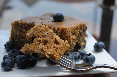 Vegetariancook: Банановый пирог с черникой